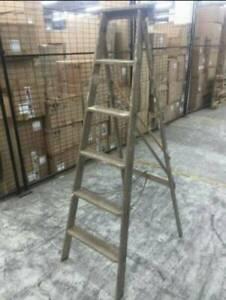 Vintage wooden ladder full of character pick up heidelberg