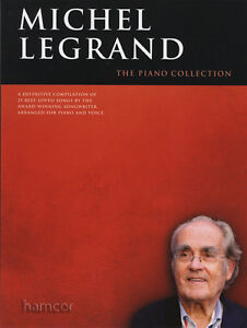 Michel Legrand The Piano Collection Sheet Music Book