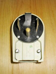 60 AMP 125/250 VOLT ANGLE INDUSTRIAL PLUG (NEMA 14-60P) ~ NEW!