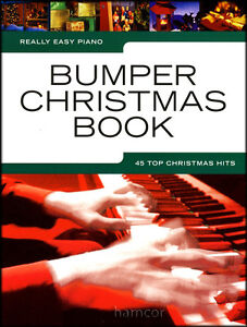 Really Easy Piano Bumper Christmas Book Sheet Music Book Carols & Pop Songs