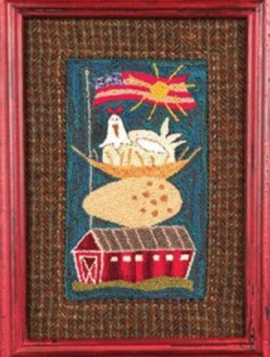 Champion Layer Punch Needle Embroidery Pattern