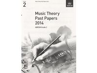 New ABRSM Grade 2 Music Theory Test Past Papers and Model Answers Books