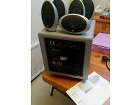 Kef 1001 5.1 surround speakers