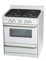 Large Selection of Propane and Natural Gas Appliances