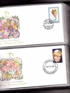 princess  diana   first day covers    album St. John's Newfoundland image 2