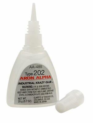Aron Alpha 202 Industrial Cyanoacrylate Adhesive For Magnets .7oz