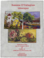 "Suzanne O'Callaghan ""Lifescapes"" @ Gallery 18 - Opening July 18"