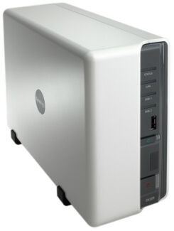 Synology DS211j 8Tb NAS (2x4Tb drives), USB backup