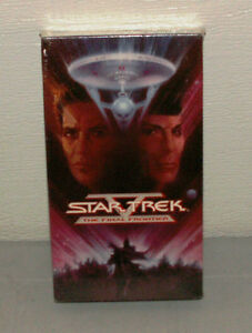 Star Trek V The Final Frontier NEW OLD STOCK FACTORY SEALED VHS