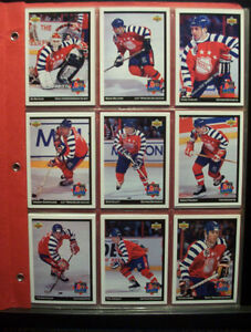UPPER DECK MCDONALD'S HOCKEY CARDS 1992/1993 (33 cards)