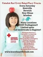 Red Cross Babysitters Course