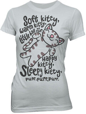 Soft Kitty Warm Kitty Song T-shirt Penny Sheldon Cooper Halloween Costume Shirts