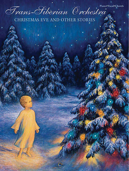 Trans-Siberian Orchestra Christmas Eve & Other Stories Piano Music Song Book
