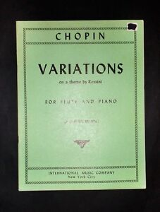 Musica-Spartiti-F-Chopin-Variations-on-a-theme-by-Rossini-Flute-and-piano