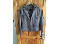 Leather Italian jacket- NEEDS TO GO ASAP