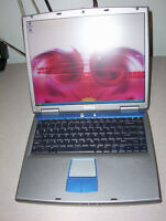 """15"""" PARTS/REPAIR DELL 5150 P4 2.66 (TO PUT BACK TOGETHER)"""