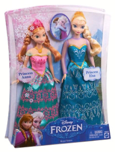 Frozen Elsa and Anna doll set with extras