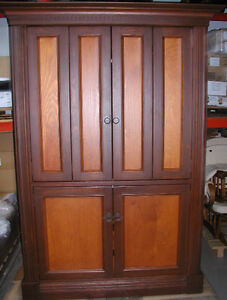 Custom-Built Entertainment Armoire.