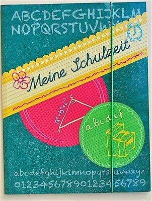 BRUNNEN 10-47085 Sammelmappe A4 Gummizugmappe Meine Schulzeit
