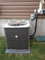 So you have no heat or A/C? We can fix that!