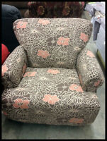 Beauty on a Budget! NEW floral print chairs & more cute bargains