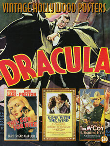 1998 FIRST VINTAGE HOLLYWOOD POSTERS AUCTION BOOK DRACULA