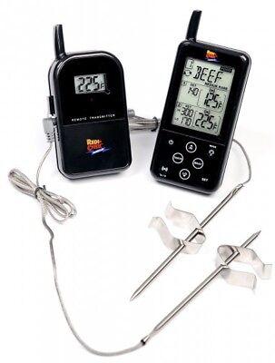 Maverick ET-733 Wireless Barbecue Funk-Thermometer Set, schwarz - Wireless Barbecue Thermometer