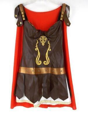 Gladiator Costume Amazon Warrior Princess Roman Soldier Sz LARGE by LEG - Amazon Costumes