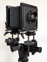 4x5 Sinar F2 outfitted kit - Lens, Holders, Extras and Case