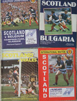 Scotland national team soccer programs World Cup, Euro, etc.