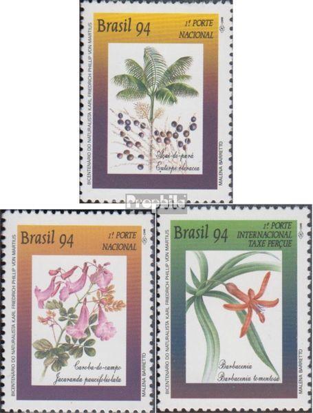 Brazilië 2580-2582 (compleet.Kwestie.) postfris MNH 1994 Conservering de Flora