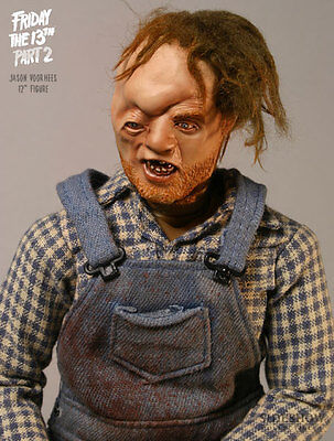 SIDESHOW FRIDAY THE 13TH PART 2 JASON VOORHEES SIXTH SCALE FIGURE STATUE BUST