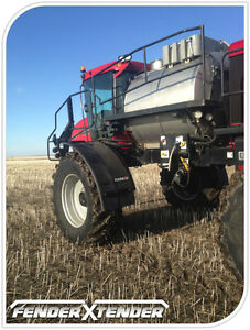 FenderXTender - Extensions for fenders on high-clearance sprayer