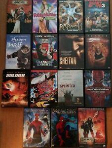 DVD 3$ CHAQUE ( listes des titres en anglais ) Gatineau Ottawa / Gatineau Area image 7