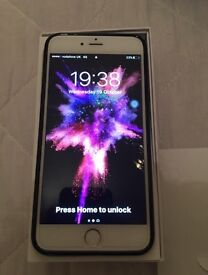 Iphone 6 plus 16gb silver grade A* mint only used a week locked to (vodafone)