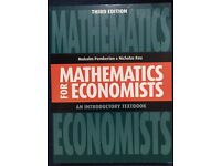 Mathematics for Economists: An Introductory Textbook (unused)