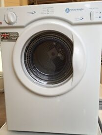 Small vented tumble dryer