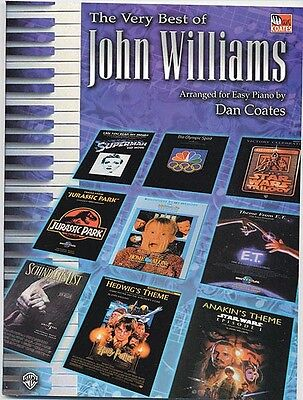 The Very Best of John Williams Sheet Music Easy Piano Composer Collect