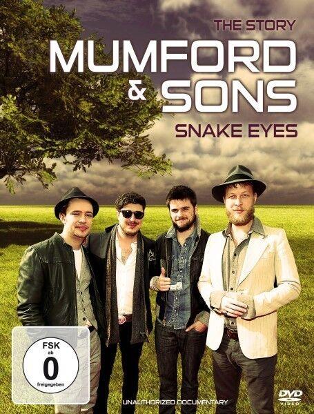 MUMFORD AND SONS - SNAKE EYES/DOCUMENTARY 2 DVD NEU