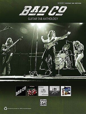 Bad Company Guitar Tab Anthology Sheet Music Guitar Tablature Book NEW 000702596