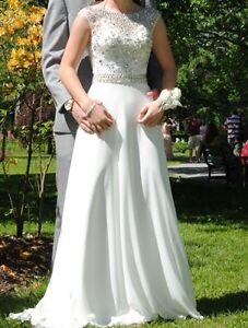 White Prom or wedding dress