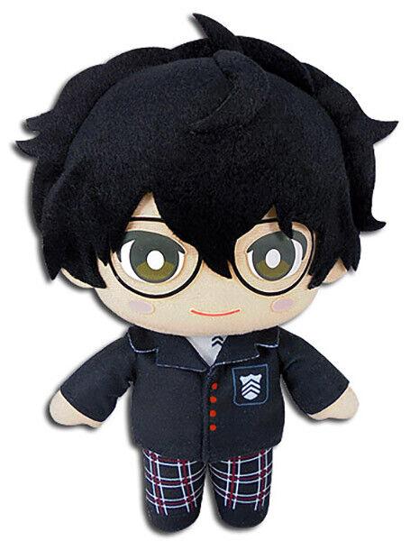 "Persona 5 Game Protagonist Joker School Uniform 8"" Plush Toy Official Licensed"