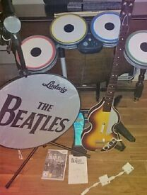 Limited edition Beatles wii rock band