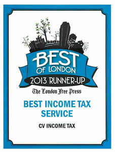 VOTED ONE OF LONDONS BEST TAX COMPANIES - OPEN YEAR ROUND !!! London Ontario image 4