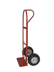 """Red """"P""""-Handle Hand Truck Cart with 800 lbs capacity London Ontario image 2"""