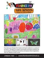 Art Classes for Children Ages 3-11 years old