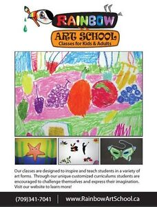 Art Classes for Children Ages 3-12 years old St. John's Newfoundland image 1