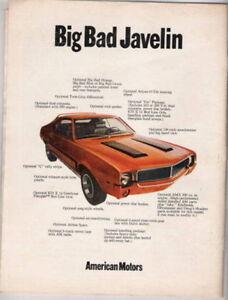 Vintage muscle car ads from 1966-1971 - GM-Ford-Chrysler-AMC Windsor Region Ontario image 4
