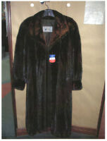 Natural Canada Majestic Female Dark Ranch Mink Coat