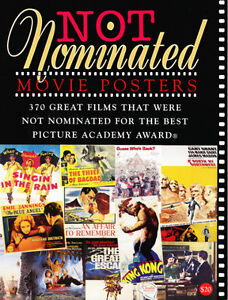 RARE NOT NOMINATED BEST PICTURE MOVIE POSTERS REFERENCE ART BOOK